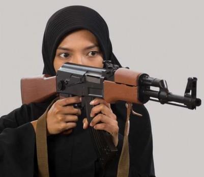djihad femme terrorisme terroriste voile islam islamique