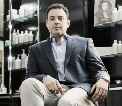 Le PDG de Backstage Commerce, Jonathan Morello. (Photo: Julia Marois, 2014)