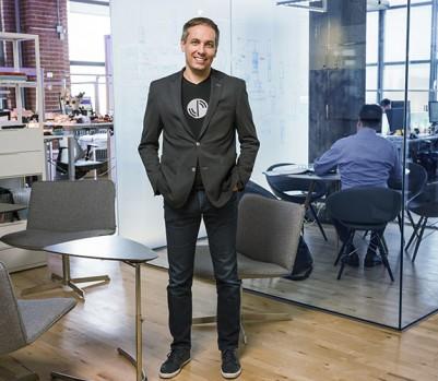 Le PDG d'Artika Marc Couture. (Photo: Christian Blais pour L'actualité)