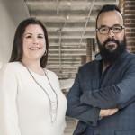 La présidente de Promo-Staff, Annie Lalande, et le vice-président, Eric Jutras. (Photo: Julia Marois, 2015.)