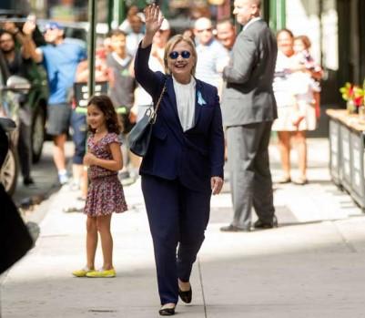 Hillary Clinton pneumonie