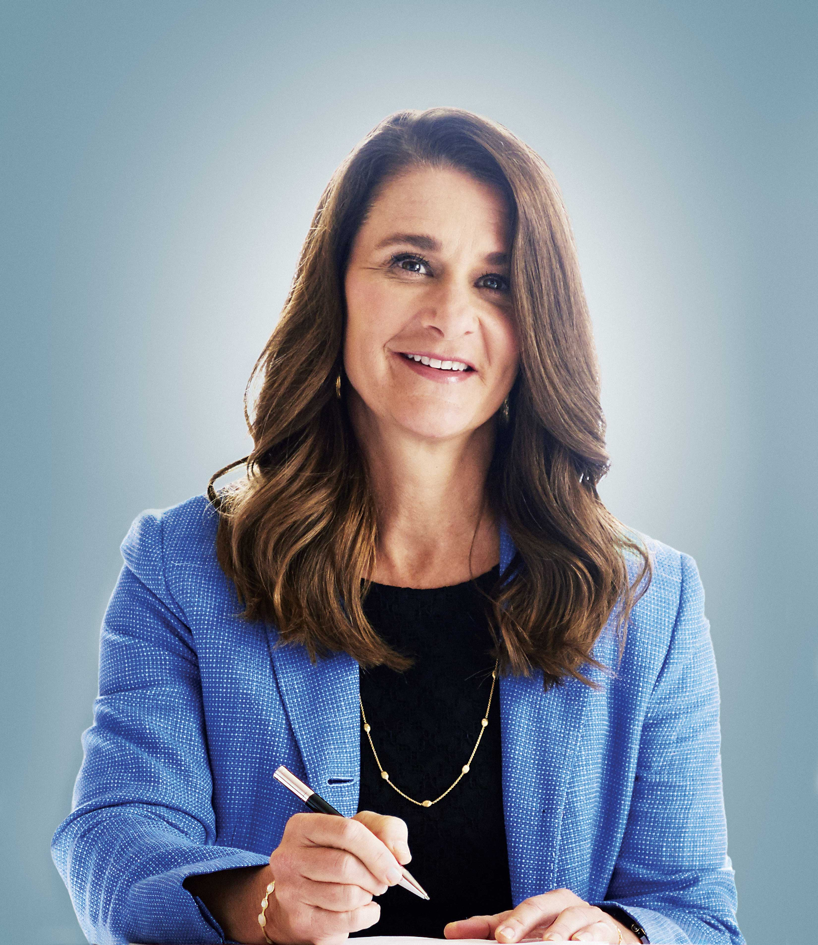 Melinda Gates. (Photo: Michael Prince/The Forbes Collection)