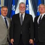 Laurent Lessard Philippe Couillard Luc Blanchette PLQ Parti libéral du Québec