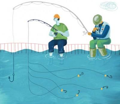 Petite entreprises attirer employers pêche pêcheur