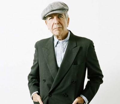 L'auteur-compositeur-interprète, poète et écrivain Leonard Cohen. (Photo: Michael Donald/Eyevine/Redux)