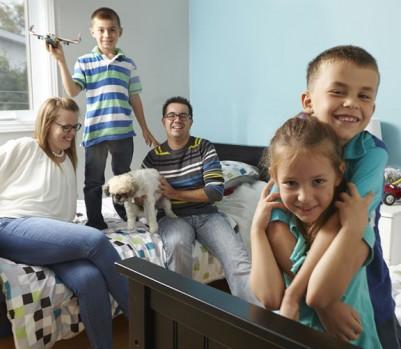 Famille Busque Changer de vie