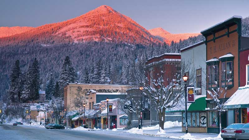 La montagne Red, en Colombie-Britannique. (Photo: Iain Reid)