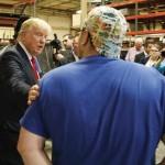 Donald Trump en public