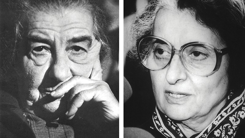 Golda Meir avait 71 ans lorsqu'elle a été élue première ministre. Indira Gandhi en avait 67 quand elle a été assassinée, après deux mandats au pouvoir. (Photo de Golda Meir: François Lochon/Gamma-Rapho/Getty Images. Photo d'Indira Gandhi: Central Press/Hulton Archive/Gettry Images)
