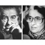 Golda Meir avait 71 ans lorsqu'elle a été élue première ministre. Indira Gandhi en avait 67 quand elle a été assassinée, après deux mandats au pouvoir. (Photo de Golda Meir: François Lochon/Gamma-Rapho/Getty Images. Photo d'Indira Gandhi: Central Press/Hulton Archive/Gettry Images)