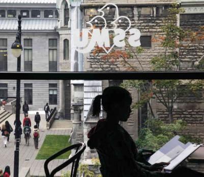 Le campus de l'Université McGill. (Photo: Roger LeMoyne)