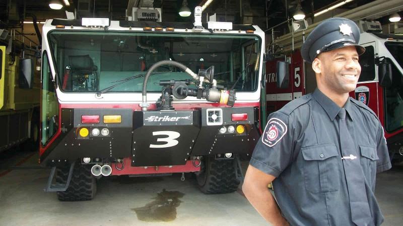 Rachid Agoujime a bon espoir de travailler dans la sécurité des transports. (Photo: D.R.)