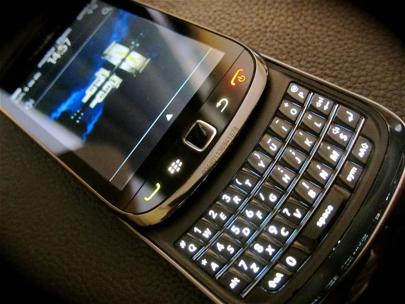 Un téléphone BlackBerry. (Photo: Wikimedia Commons / Enrique Dans)