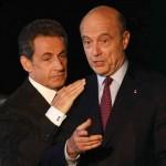 L'ancien bouillant président Nicolas Sarkozy (à gauche) talonne l'ex-premier ministre Alain Juppé, le «vieux sage» donné pour favori. (Photo: Bob Edme/AP/La Presse Canadienne)