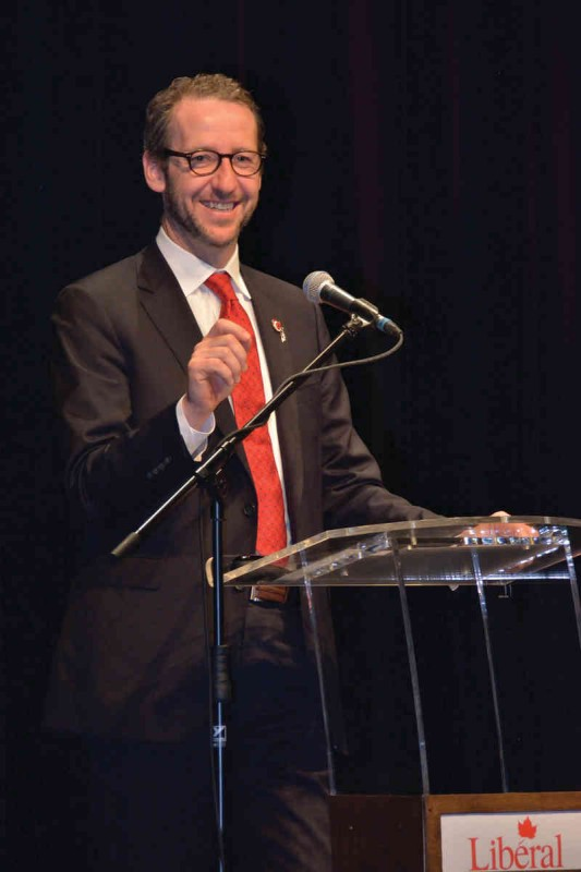 Le secrétaire principal du premier ministre, Gérald Butts, carbure à l'instinct. (Photo: Geordie Mott)