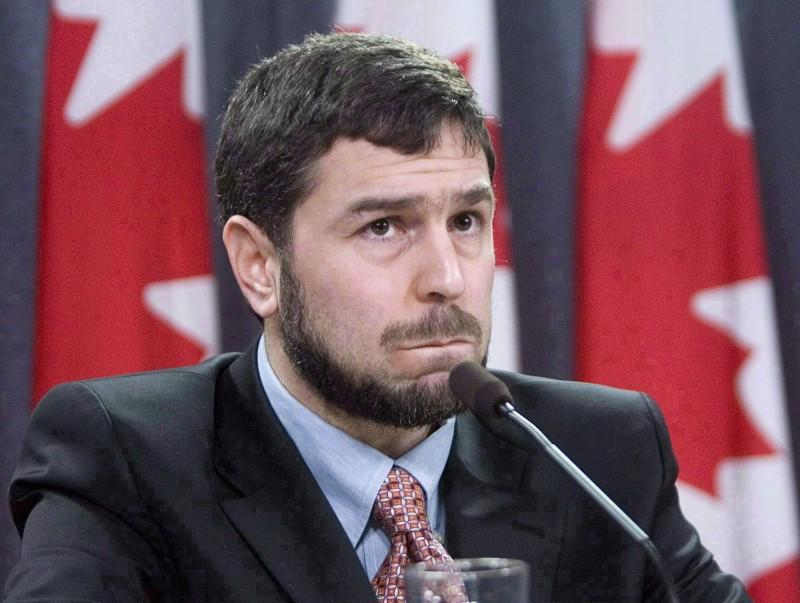 Maher Arar en 2006, lors d'une conférence de presse à Ottawa. (Photo: La Presse Canadienne / Tom Hanson)
