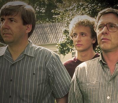 Scène du film de Denys Arcand: des personnages façonnés par leur époque. (Photo: Photos 12 / Alamy Stock Photo)