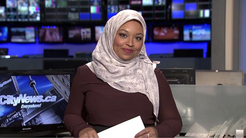 Ginella Massa, la première femme chef d'antenne à porter le hidjab au Canada