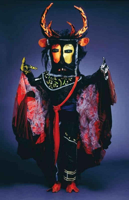 Un costume créé par Marc Chagall. (Photo: Museum Associates / LACMA)
