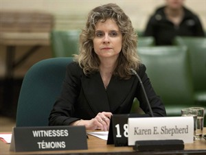 Karen Shepherd.  Adrian Wyld / La Presse Canadienne