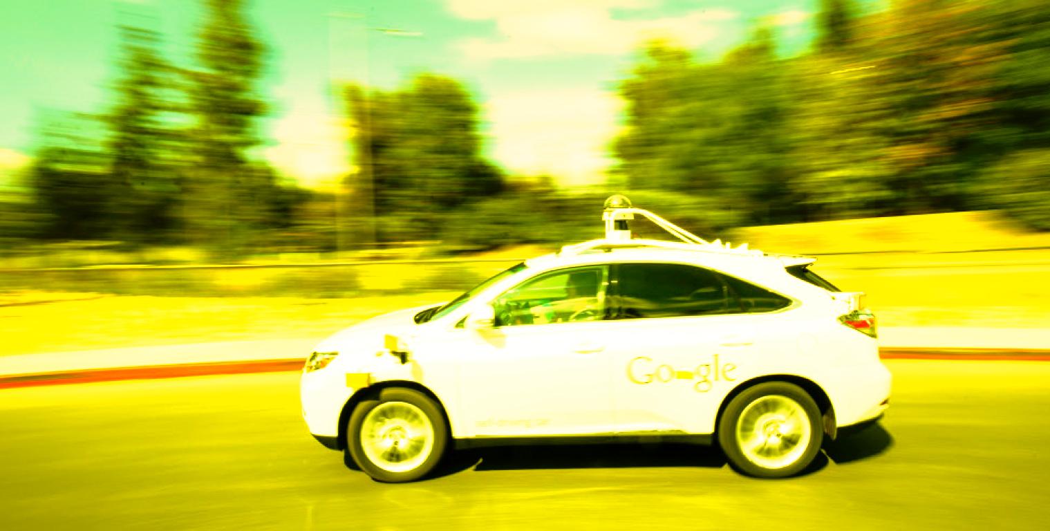 La voiture autonome arrive