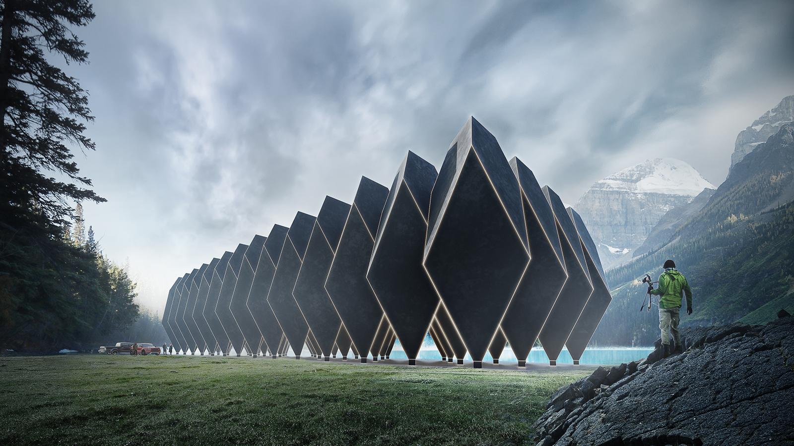 H tel futuriste cherche site d exception art de vivre for Cherche hotel
