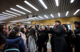 On a rencontré le gars qui trippe tellement sur le métro qu'il en a fait un simulateur