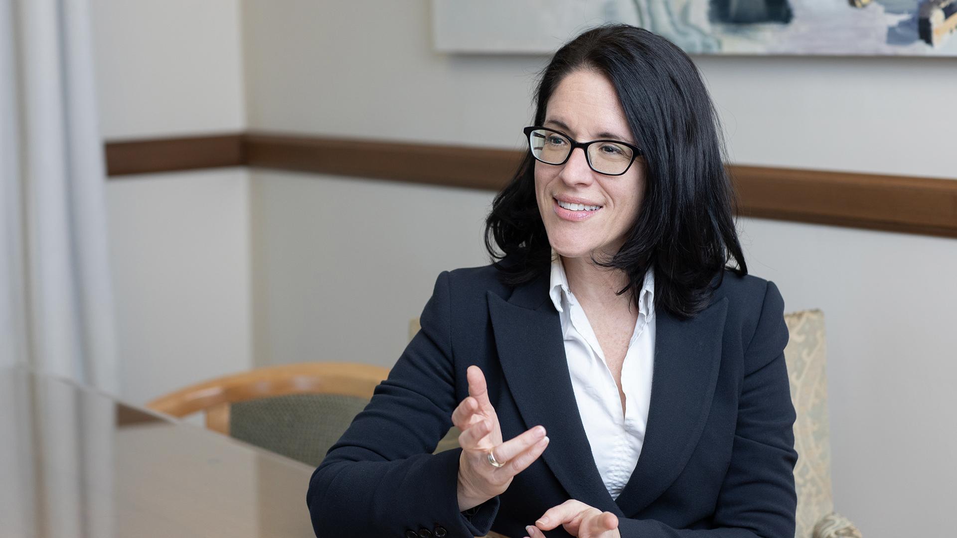 Sonia Lebel : Une ministre face à une nécessaire révolution