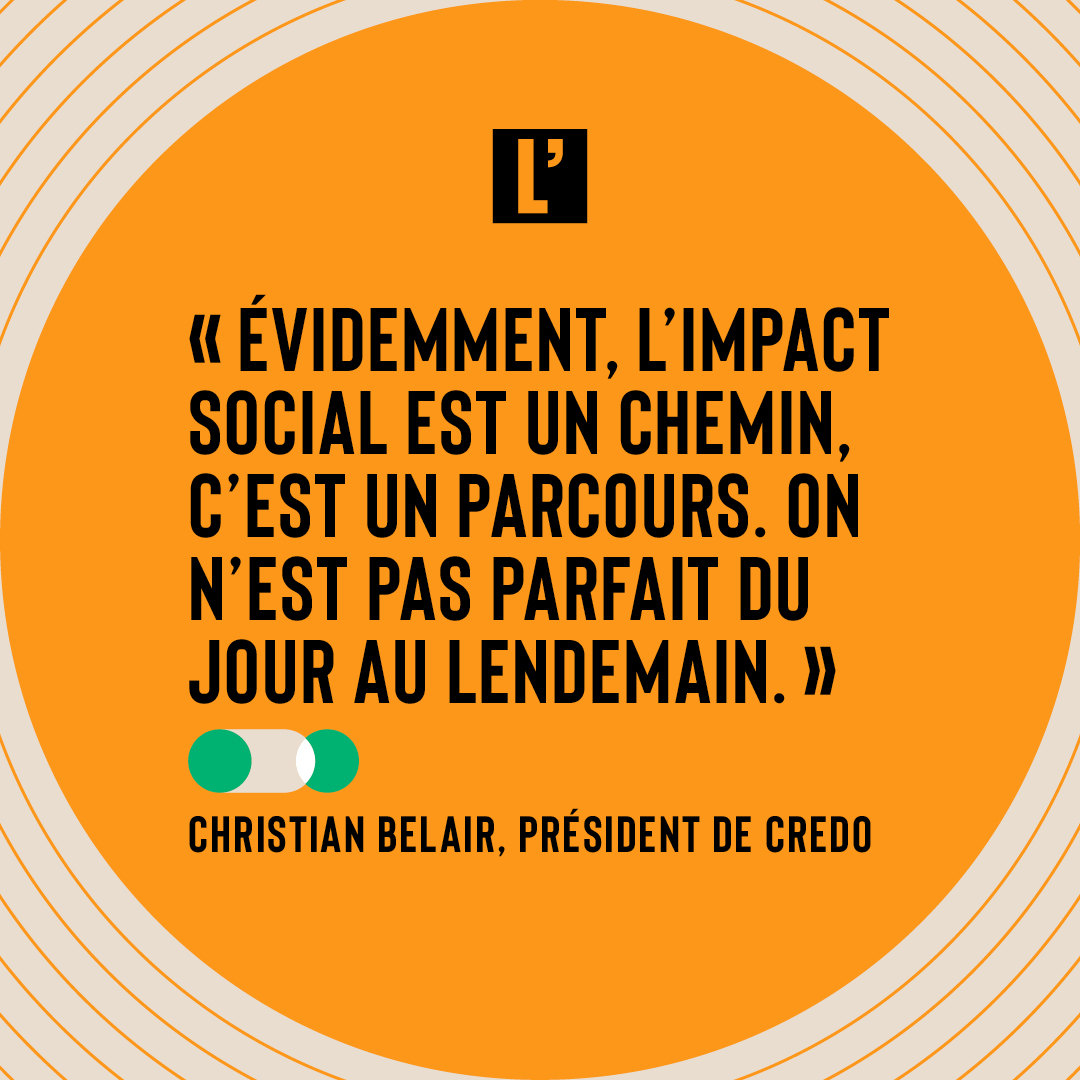 citation christian Bélair impact social