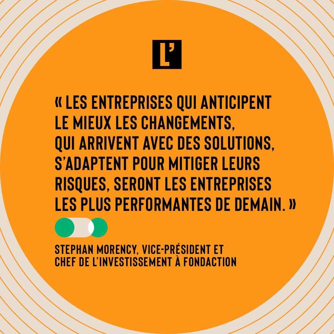 Citation Stephan Morency Fondaction