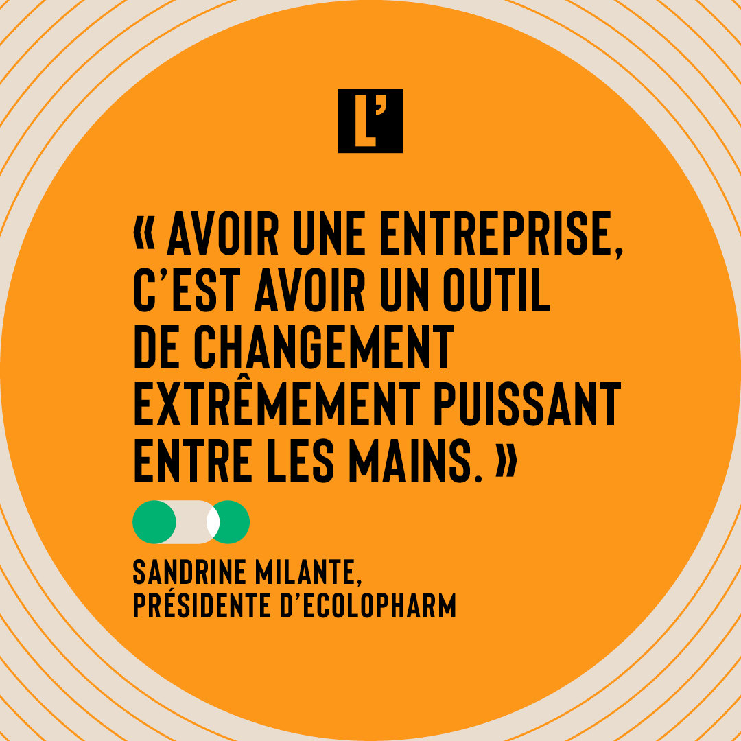 Citation Sandrine Milante, EcoloPharm