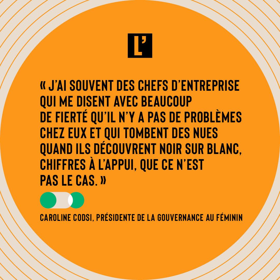 Citation Caroline Codsi, La gouvernance au féminin