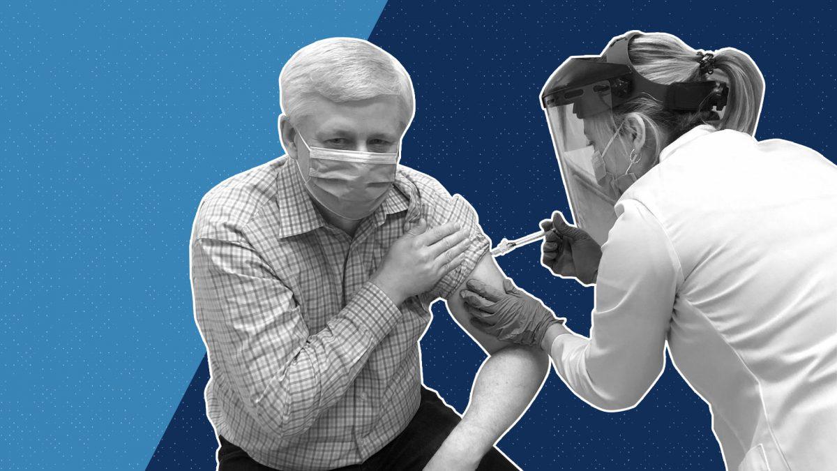 Stephen Harper va-t-il convaincre les conservateurs de se faire vacciner ?