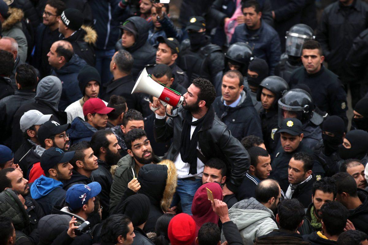 Tunisie manifestations